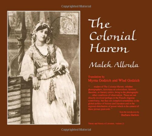 9780816613830: The Colonial Harem (Theory & History of Literature)