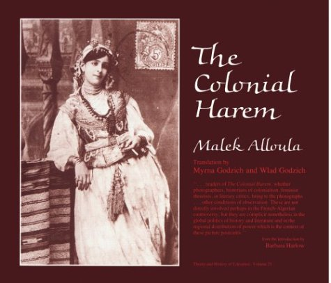 9780816613847: Colonial Harem (Theory & History of Literature)