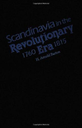 9780816613922: Scandinavia in the Revolutionary Era, 1760-1815 (Nordic Series)