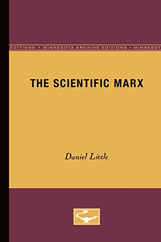 9780816615056: The Scientific Marx