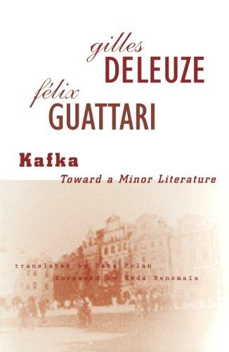 Kafka: Toward a Minor Literature (Theory and: Gilles Deleuze