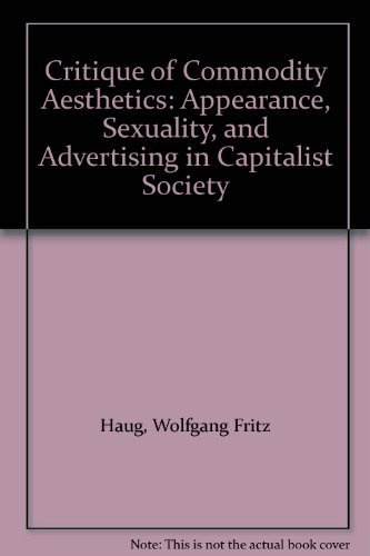 Critique of Commodity Aesthetics: Appearance, Sexuality, and Advertising in Capitalist Society: ...