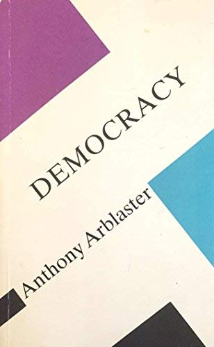 9780816616657: Democracy (Concepts in Social Thought)