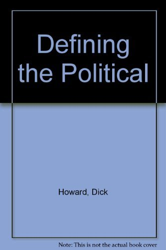 9780816617166: Defining the Political