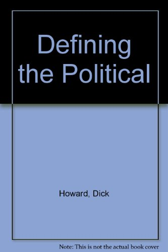9780816617173: Defining the Political
