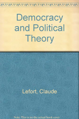 9780816617548: Democracy and Political Theory (English and French Edition)