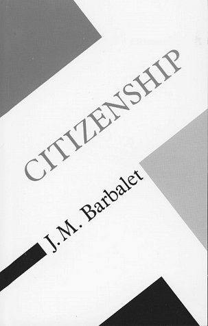 9780816617760: Citizenship (Concepts in Social Thought)