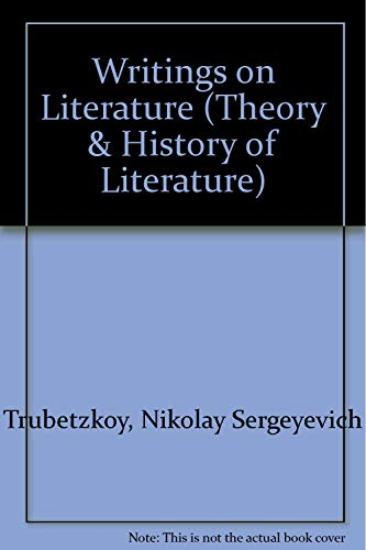 9780816617920: Writings on Literature (Theory & History of Literature)