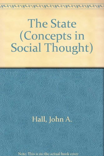 9780816617951: The State (Concepts in Social Thought)