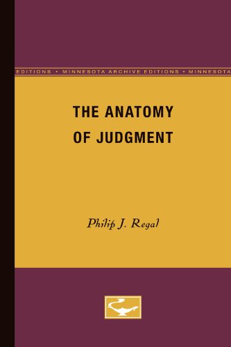 The Anatomy of Judgment
