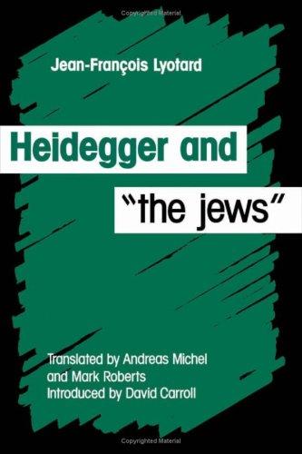9780816618569: Heidegger and the Jews