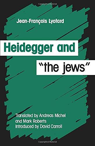 9780816618576: Heidegger and the Jews