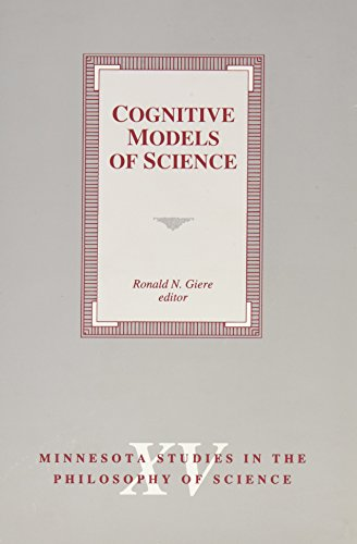 9780816619795: Cognitive Models of Science (Minnesota Studies in the Philosophy of Science)
