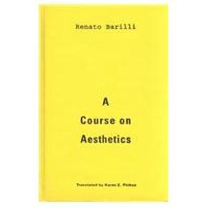 9780816621187: A Course on Aesthetics