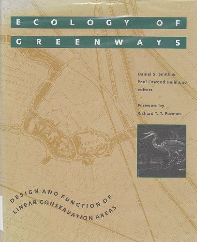 9780816621576: Ecology of Greenways: Design and Function of Linear Conservation Areas