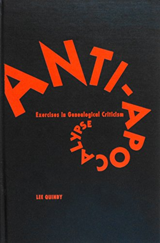 9780816622788: Anti-Apocalypse: Exercises in Genealogical Criticism