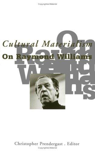 Cultural Materialism: Prendergast, Christopher
