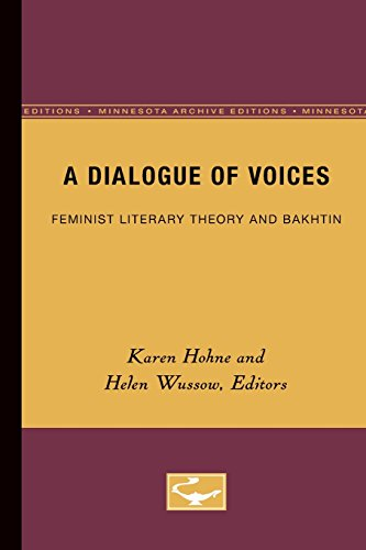 9780816622962: A Dialogue of Voices: Feminist Literary Theory and Bakhtin
