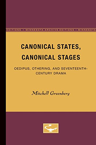 Canonical States, Canonical Stages: Oedipus, Othering, and: Greenberg, Mitchell