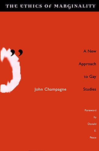 9780816625338: Ethics Of Marginality: A New Approach to Gay Studies