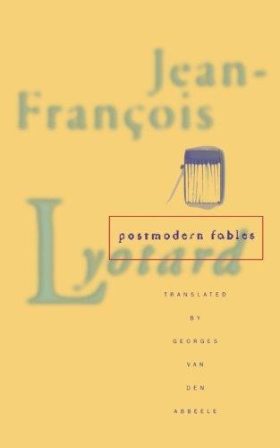 Postmodern Fables: Jean-Francois Lyotard