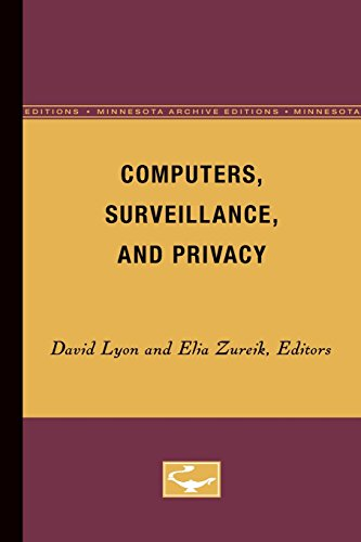 9780816626533: Computers, Surveillance, and Privacy