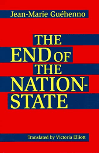 9780816626601: End of the Nation-State