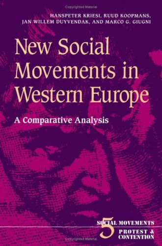 New Social Movements in Western Europe: A Comparative Analysis: Kriesi, Hanspeter