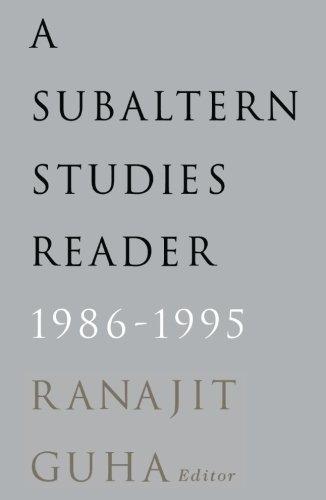 9780816627592: Subaltern Studies Reader, 1986-1995