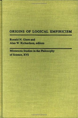 9780816628346: Origins of Logical Empiricism (Minnesota Studies in Philosophy of Science)