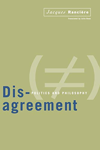 9780816628452: Disagreement: Politics And Philosophy