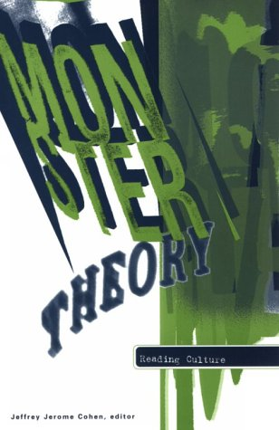 9780816628551: Monster Theory: Reading Culture