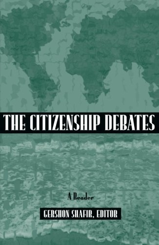 9780816628810: The Citizenship Debates: A Reader