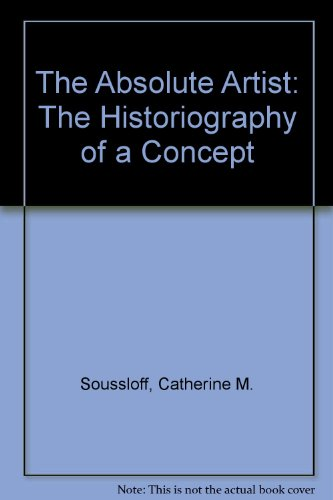 9780816628964: The Absolute Artist: The Historiography of a Concept