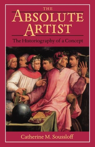 9780816628971: The Absolute Artist: The Historiography of a Concept