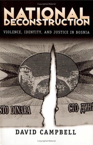 9780816629367: National Deconstruction: Violence, Identity, and Justice in Bosnia