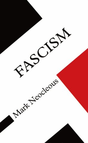 9780816630400: Fascism (Concepts in social thought)