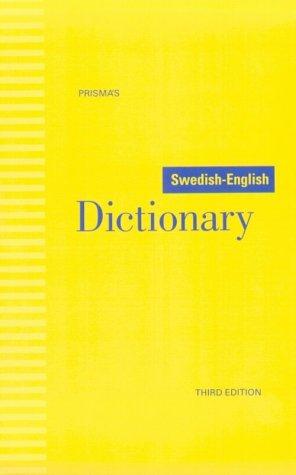 9780816631636: Prisma's Swedish-English Dictionary (Swedish and English Edition)