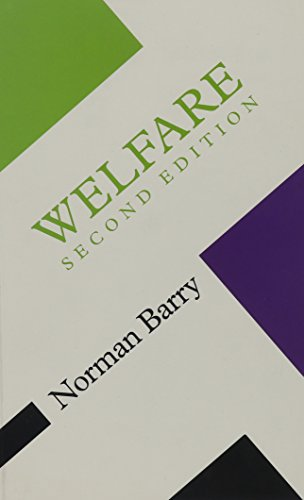 9780816632251: Welfare (Concepts Social Thought)