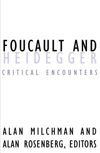 9780816633791: Foucault And Heidegger: Critical Encounters (Contradictions of Modernity)
