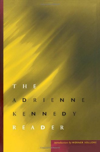 9780816636020: The Adrienne Kennedy Reader