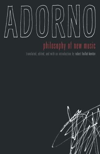 9780816636662: Philosophy Of New Music