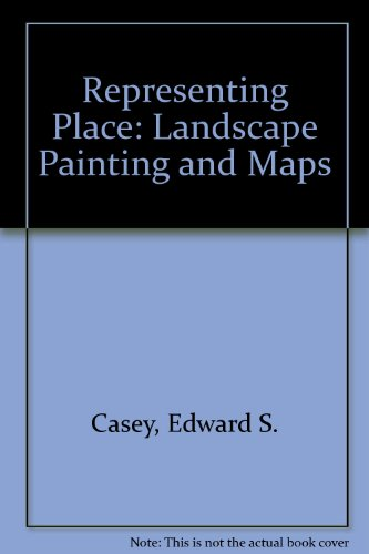 9780816637140: Representing Place: Landscape Painting and Maps
