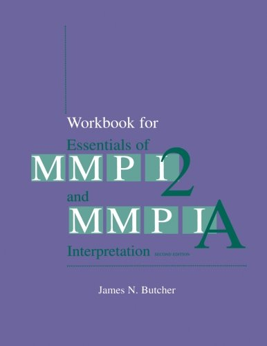9780816637829: Workbook for Essentials of MMPI-2 and MMPI-A Interpretation, Second Edition