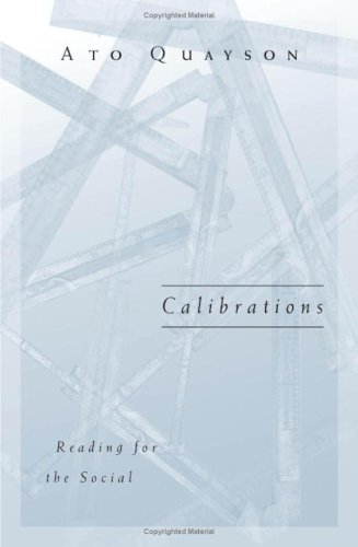 9780816638390: Calibrations: Reading for the Social