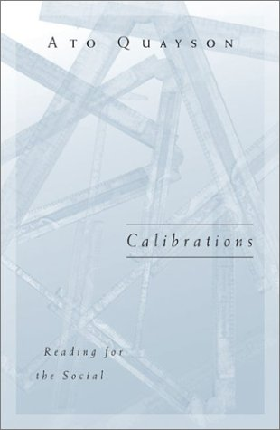 9780816638406: Calibrations: Reading for the Social
