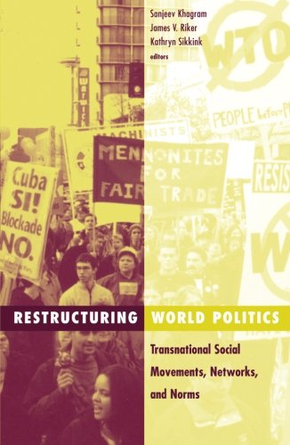 9780816639076: Restructuring World Politics: Transnational Social Movements, Networks, and Norms (Social Movements, Protest, & Contention)