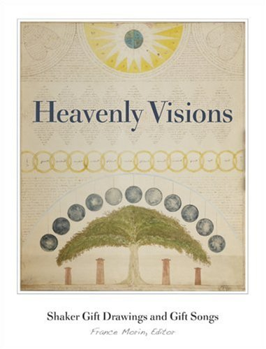 9780816640690: Heavenly Visions: Shaker Gift Drawings and Gift Songs
