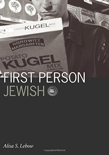 9780816643554: First Person Jewish (Visible Evidence)