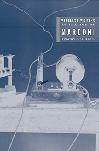 9780816644421: Wireless Writing in the Age of Marconi (Electronic Mediations)